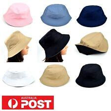 Bucket Hat Sports Mens Women Sun Work Cap Walking Outdoor Summer Hat Reversible
