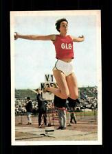 Ingrid Becker Leichtathletik Bergmann Sammelbild Sportbild 1968 Nr. 199