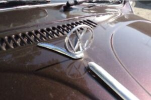 Volkswagen VW Hood Emblem hoodride volksrod oval split  kdf T1 beetle vocho