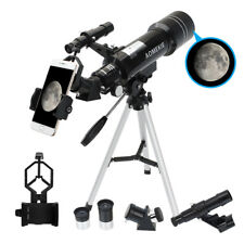 40070 Telescope with Tripod Phone Adapter 16X/66X Moon Watching for Beginners