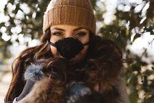 Nose Warmer, Black Faux Fur, Secret Santa, Design Registered, Genuine Original