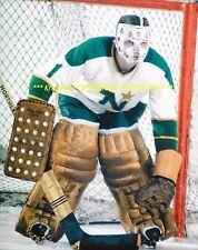GARY BAUMAN Defends His NET 8x10 Minnesota NORTHSTARS Star GOALIE 1967-69~@@