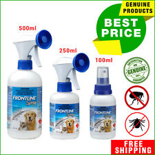 FRONTLINE SPRAY Flea and Tick Treatment for Dogs and Cats 100, 250, 500 ML