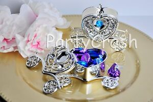 12 Carriages Trinket Box Baby Shower Wedding Party Favors Table Decorations