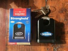 SQUIRE SS65C  65mm SOLID STEEL PADLOCK SHROUDED