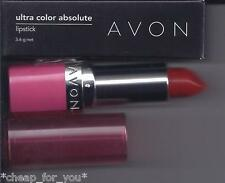 *~AVON~*ULTRA COLOR RICH ABSOLUTE LIPSTICK**RED VELVET**NEW**