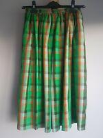Celine Vintage 100% Silk Skirt Size 38 UK6-8