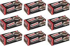 Ferrero Hanuta Black & White - Milchcreme Limited Edition - 9 Packungen je 220g