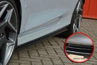 CUP4 Seitenschweller Sideskirts ABS für Ford Fiesta ST MK8 JHH Schwarz Glanz