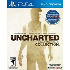 Uncharted The Nathan Drake Collection PS4 Game - Brand New!