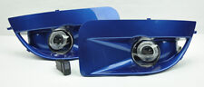 World Blue JDM Projector Halo Fog Lights w/ Covers FITS Subaru Impreza/WRX 04-05