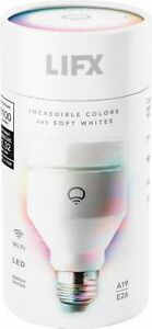 NEW SEALED LIFX Multi Colored 1100-Lumen Dimmable A19 LED Light Bulb
