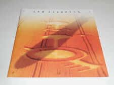Led Zeppelin: Light And Shade 1990 Booklet w/Fold-out Concert Photos And History