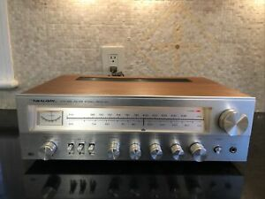Mint Realistic Receiver STA-648 AM/FM Stereo Walnut Wood Case Perfect Condition