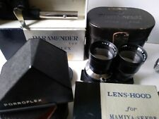 Vintage Mamiya C330 Lens Outfit with accessories