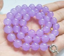 "Genuine 10mm Alexandrite Gemstone Round beads Jewelry Necklace 18"" AAA Grade"