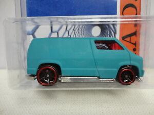 Hot Wheels Custom '77 DODGE VAN Aqua 1977 JON'S RAOK 2015 Convention