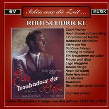Rudi schuricke-Un trouvère de l'amour | double cd neuf dans sa boîte