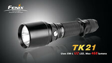 Fenix TK21 Cree XM-L U2 LED Flashlight 18650/2xCR123A model w/ Strobe, US Seller