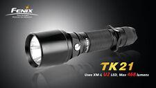 Fenix TK21 Cree XM-L U2 LED Flashlight 18650/2xCR123A model w/ Strobe, US Seller
