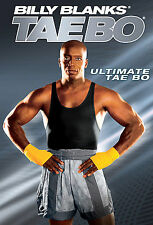 Billy Blanks ULTIMATE TAE-BO (DVD) Tae-bo Workouts High Energy Kickboxing