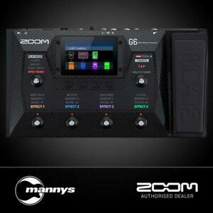 Zoom G6 Guitar Multi-Effects Processor for Guitarists
