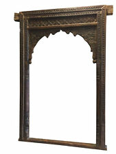 Antique Arch Headboard Welcome Gate Arch Hand Carved Vintage Architectural 18C