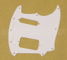 JGS-1202 WD White 1-Ply Thin Jag-Stang Fender Guitar Pickguard