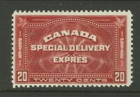 Canada Early 20c Red Special Delivery Express LMM Ex-Old Time Collection