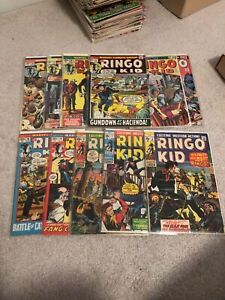 Ringo Kid Marvel Western lot 11 comics mid grade 3-28 all different