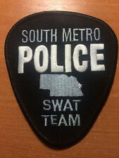 PATCH POLICE SOUTH METRO - SWAT TEAM - NEBRASKA state