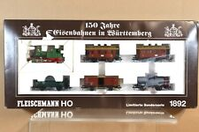 FLEISCHMANN 1892 MARKLIN MäRKLIN AC DIGITAL 150 JAHRE Württemberg SET nc