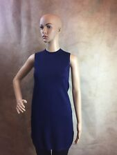 ZARA NAVY BLUE KNITTED DRESS SIZE SMALL (B4) REF: 5646 010