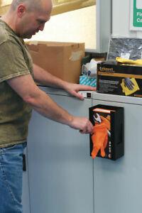 Magnetic Glove Holder Dispenser Toolbox Storage 253x143x95mm - BLACK