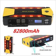 12V Portable Car Jump Starter Pack Battery Charger 82800mAh Emergency Power Bank