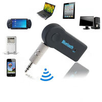 Bluetooth Adapter Receiver 3.0 Audio Stereo Music 3.5mm Car Aux A2DP Wireless