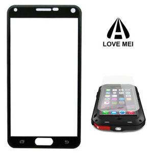 3 X Original Replacement Glass Screen Protector For LOVE MEI Powerful Cases