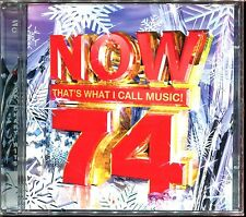 NOW 74 THAT'S WHAT I CALL MUSIC! - 2 CD COMPILATION NEUF ET SOUS CELLO