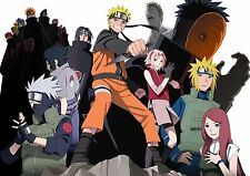 Naruto Shippuden - Amazing - High Quality  ( 22 in x 34 in ) - FAST SHIPPING