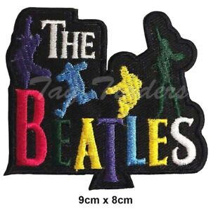 The Beatles Rockabilia Music band Iron on Sew on Embroidered Patch