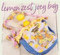 Matilda Jane Lemon Zest Joey Bag The Adventure Begins New Tote Purse Summer