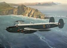 Avro Shackleton South African Air Force Aviation Painting Art Print Darryl Legg