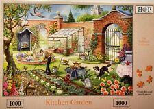 HOP Deluxe 'KITCHEN GARDEN' 1000-Piece Jigsaw Puzzle - **Excellent Condition**