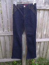 """Baby Phat Boot Cut Blue Jeans Size 7 Inseam 33""""     Z134"""