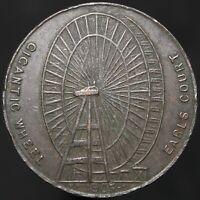 1905 | Earls Court Gigantic Wheel Token | Tokens | KM Coins