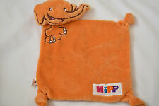 ORANGE ELEPHANT ** HIPP ** BABY BLANKIE SOFT TOY COMFORTER NEXT DAY POST