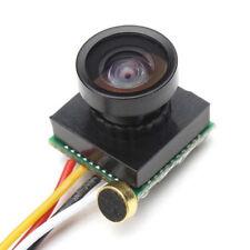 "HD 700TVL 1/4""CMOS 1.8mm Wide Angle Lens CCTV Security FPV Camera NTSC"