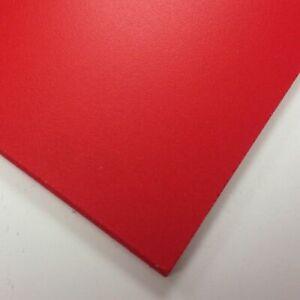 Red Foamex Panel 297mm x 210mm x 3mm Thick Foamed PVC Board