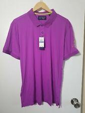 1 Nwt Penguin Men'S Shirt, Size: X-Large, Color: Purple/Yellow (J25)
