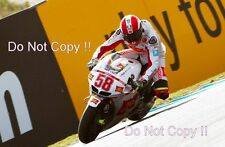 Marco SIMONCELLI SAN CARLO HONDA GRESINI MOTO GP PORTOGALLO 2010 Fotografia